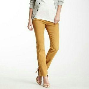 Cabi ruby gold khaki skinny jeans #502